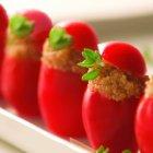Organic Amaranth Stuffed Cherry Tomatoes Recipe
