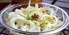 Apple, Fennel & Walnut Salad with Apple Cider Vinaigrette