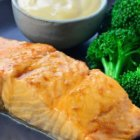 Asian Spiced Salmon Recipe with Wasabi Mayonnaise