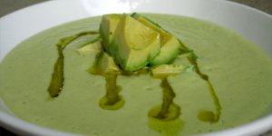 avocado, soup