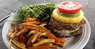 Black Bean and Navy Bean Veggie Burger Recipe