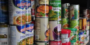 canned food, cans