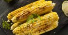 Grilled Corn on the Cob with Cilantro Lime Drizzle