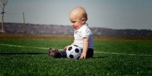 artificial grass, turf, baby