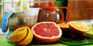 grapefruit, lemon