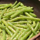 Sauteed Green Beans Recipe with Walnut Oil and Toasted Sesame Seeds