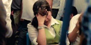 woman, migraine, headache