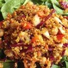 Moroccan Inspired Quinoa Salad Recipe