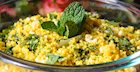 Quinoa, Corn & Kale Salad with Fresh Mint