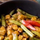 Green Bean & Tofu Quick Skillet Recipe