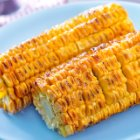 Corn on the Cob Recipe with Spicy Flax Sauce