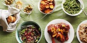 thanksgiving meal, dinner