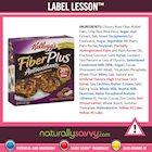 [Label Lesson] Granola Bars