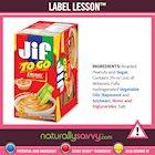 [Label Lesson] Peanut Butter