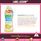 [Label Lesson] Diet Iced Tea