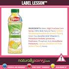 [Label Lesson] Iced Tea