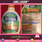 [Label Lesson] Ranch Dressing