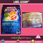 [Label Lesson] Throat Drops