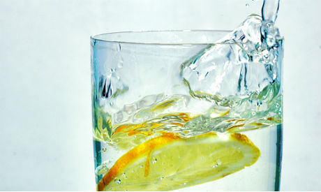 Drinking lemon water stimulates your liver and promotes good digestion