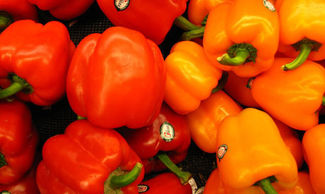 b vitamins, bell peppers