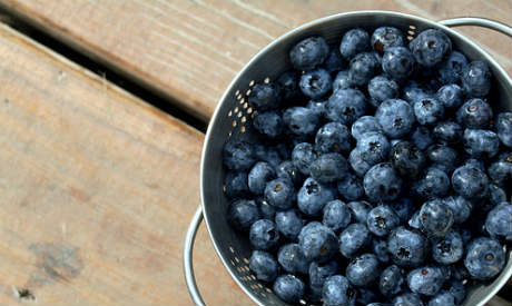 Berries have been shown to reduce heart disease in women