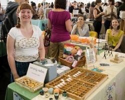 Craft fairs offer tons of local, handmade gifts. Photo by Orin Zebest via Flickr.com.