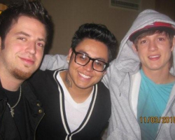 American Idol contestants Lee DeWyze, Andrew Garcia, and Alex Lambert. Photo: Naturally Savvy.