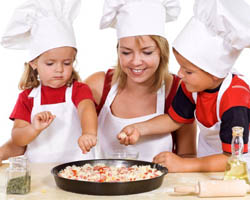 Cooking with Kids Makes Nutritional Sense Joanne Capano Naturally Savvy Healthy Cooking Eating