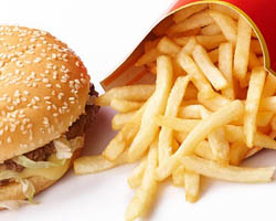 The Real Cost of Fast Food McDonald's Burger King Fat Calories Sodium Heart Disease High Blood Pressure Trans Fats French Fries Deep Fried Foods