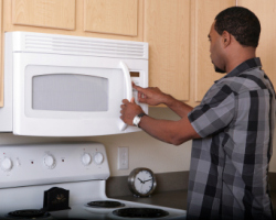 Microwave ovens have some not so good ide effect. Photo: iStock Photo.