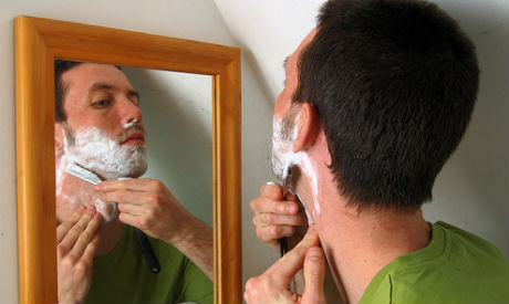 The dangerous ingredients in men's skin care products include parabens, dioxane, propylene glycol and others.
