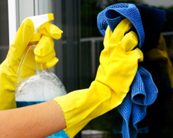 Use microfiber to reduce waste and avoid using harsh chemical cleaners. Keywords: cleaning, green cleaning, environment, microfiber, microfiber cloths, natural cleaning, chemicals, cleaning products, environmental impact, eco-friendly