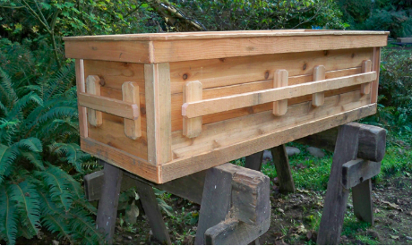 homemade casket designs