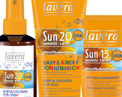 lavera sunscreen skin care preventing wrinkles safe sunscreens natual sunscreens safe protection lavera skincare healthy living sun protection for kids sun protection baby