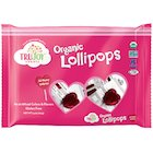 Sweet Love: TruJoy Sweets Organic Heart Shaped Lollipops