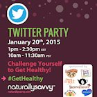 Challenge Yourself to #GetHealthy Twitter Party!