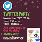 #GetHealthy Challenges Twitter Party!