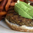 Garden Veggie Burger Recipe with Lentils, Walnuts and Pumpkin Seeds