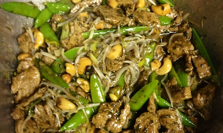 Thai Pork Stir Fry Recipe with Garlic Pepper Sauce