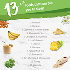 [Infographic] 13 Foods That Can Put You To Sleep