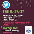 Maty's Healthy Products #LoveMatys Twitter Party