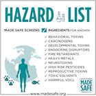Made Safe Hazard List