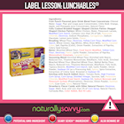 [Label Lesson] Lunchables