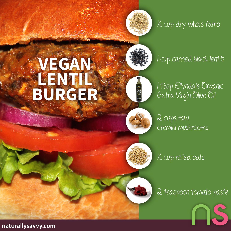 Simply Delicious Vegan Lentil Burger Recipe