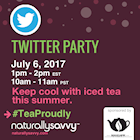 Twitter Party Bigelow Tea #TeaProudly July 6, 2017