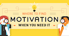 [Infographic] Where to Find Motivation When You Need it Most