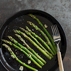 Made by Me: Garlicky Roasted Asparagus