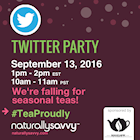 Twitter Party Bigelow Tea #TeaProudly