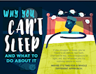 [Infographic] Why You Can't Sleep and What to Do About It