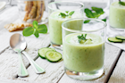 Chilled Cucumber and Avocado Soup Recipe